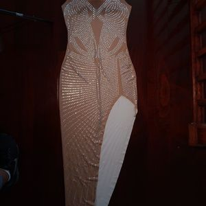 Prized Possession On Rhinestone Dress